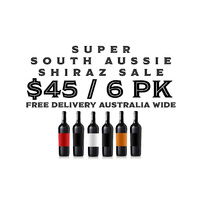Super South Aussie Mystery Shiraz 6 pack