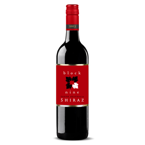 Block Nine South Australian Shiraz 2014 - 6 pack